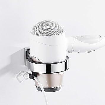 Yingsssq Soporte de secador de Pelo de Pared de Acero Inoxidable para baño (Color : -, tamaño : -): Amazon.es: Hogar