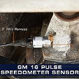 GlowShift 16 Pulse Speedometer Sensor Adapter for