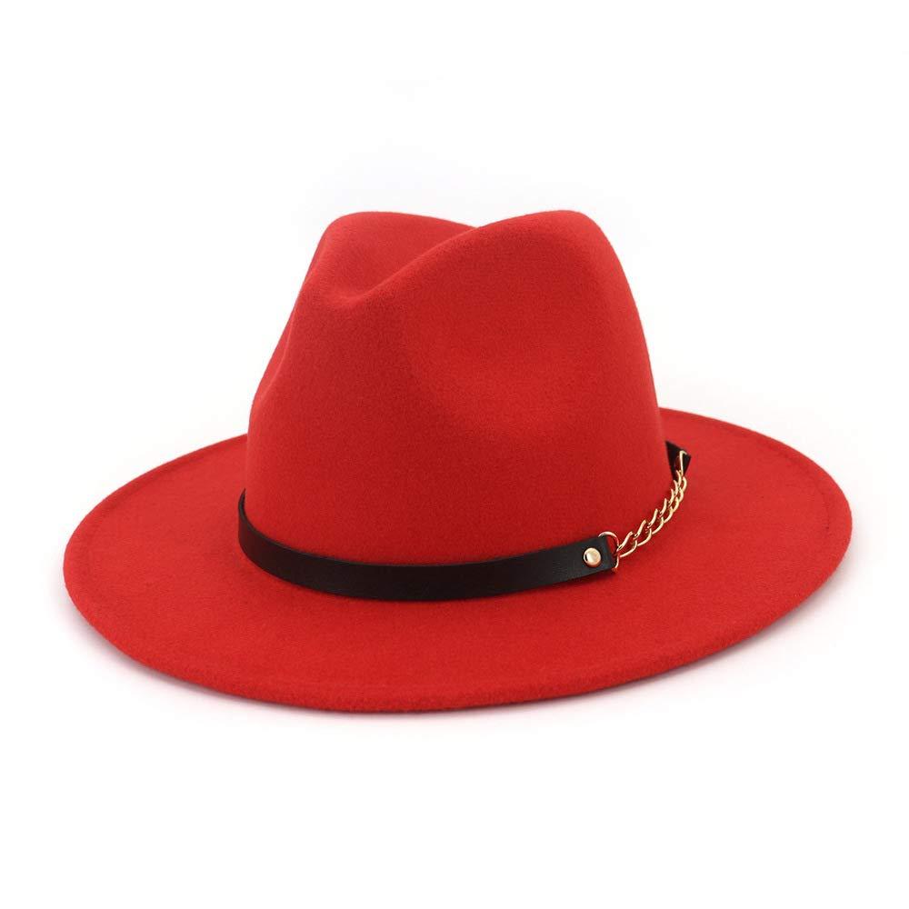 Sombreros de fieltro 2019 Mujeres Hombres Sombrero de poliéster de ...