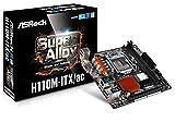 ASRock H110M-ITX/ac LGA 1151 Intel H110 HDMI SATA 6Gb/s USB 3.0 Mini ITX Intel Motherboard