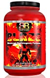 Blaze Fat Burner Pills Increase Metabolism, Lose Weight Rapidly, Thermogenic, Appetite Control, Increase Energy 60 Count Capsule, Non-GMO. For men and women. No workout or exercise needed.