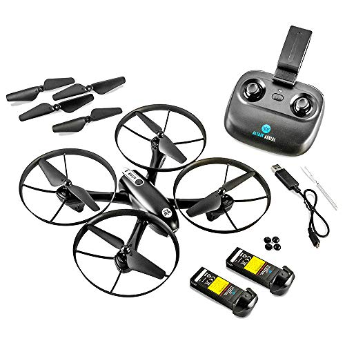 Altair Falcon AHP - Drone with Camera for Beginners, Live Video 720p, 2 Batteries & Autonomous Hover & Positioning System Easy to Fly, FPV, Custom Routes, Lincoln, NE Company. (The Best Professional Camera For Beginners)