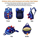 819ee16f93b4 Galleon - DB Dinosaur Toddler Mini Backpack With Leash, Anti-Lost ...