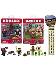 Primitive Gods 2 Pack Action Figures 15 pc Set Bundled with Exclusive Virtual Code Accessories Celebrity Blind Box Mount Figures + Fantastic Frontier Bandit Fire Mage 3 Items