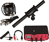 Movo Cinema Bundle with 11'' XLR Supercardioid Shotgun Video Microphone and 2-Channel Premium Audio Mixer for DSLR Cameras & Camcorders