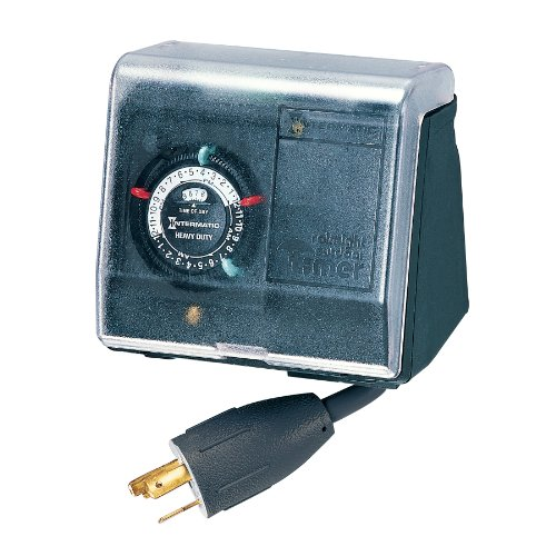 Intermatic P1131 Timer, Black
