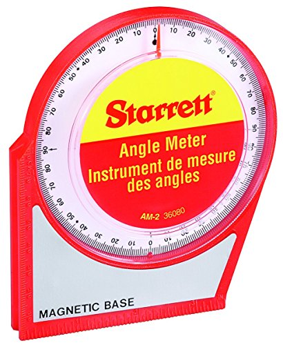 Starrett AM-2 Magnetic Angle Meter, 0° to (Am Layout)
