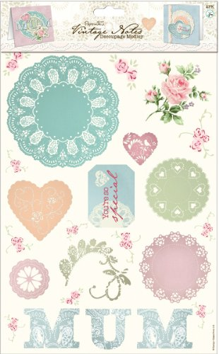 (Papermania Vintage Notes Decoupage Pack-Mum 1 pcs sku# 1774580MA)