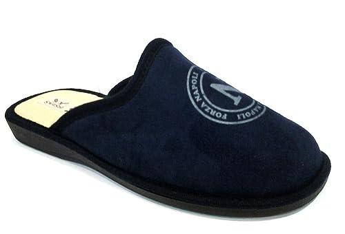 competitive price 9e571 dc54d Pantofole ciabatte invernali da ragazzo TIFOSO NAPOLI art ...