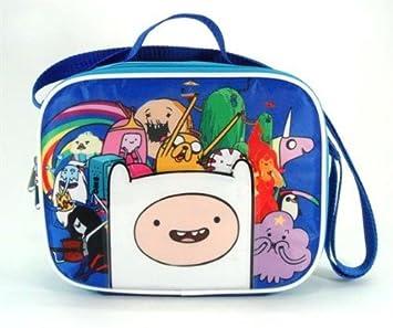 Bolsa para el almuerzo - Hora De Aventuras Finn gran grupo/equipo niños caso 621186: Amazon.es: Juguetes y juegos