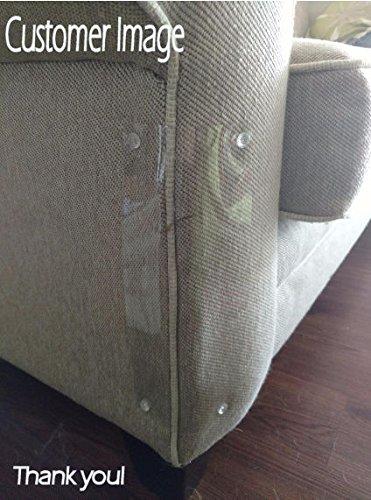 Protectores para arañazos de gato para sofá, 27 x 11 cm, 2 unidades, color claro, con patas: Amazon.es: Productos para mascotas