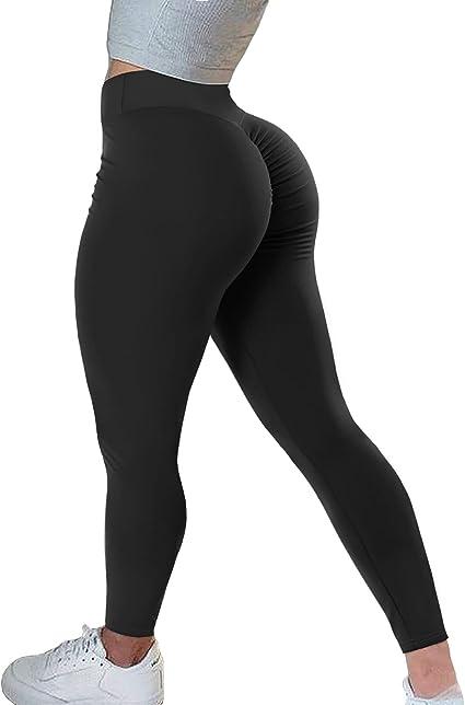 AIMILIA Women Gym Shorts Butt Lifting Ruched Yoga Booty Running Short Tummy Control Leggings High Waisted Pants