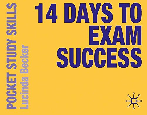 14 Days to Exam Success (Pocket Study Skills)