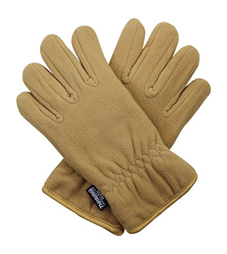 40g Thermal Fleece Winter Gloves for Men - One Size Fits All