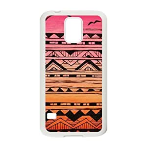 Aztec Tribal Pattern Customized Cover Case for SamSung Galaxy S5 I9600,custom phone case ygtg536261