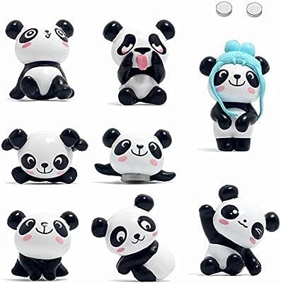 Magneti Da Frigo Set Di 8 Panda Calamite Per Frigorifero Super Forte
