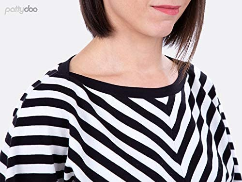 Patrones de corte pattydoo señora camisa polo /& vestido Leslie
