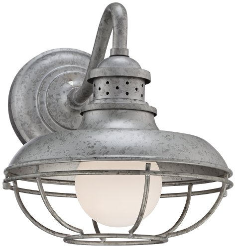Galvanized Metal Outdoor Lighting - 9