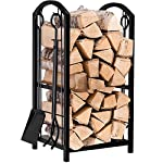 AMAGABELI GARDEN & HOME Fireplace Log Holder & Tool Set