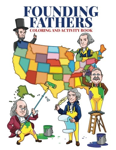 Founding Fathers Children And Activity Books for Kids Ages 2
