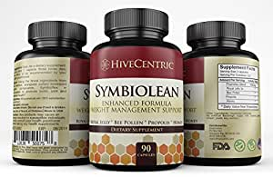 Amazon.com: Symbiolean Natural Weight Loss with bee pollen