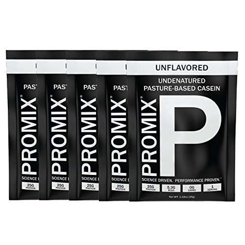 ProMix Nutrition Unflavored Casein-5 Servings-Results & Recovery, Pre & Post Workout Supplements for Men & Women-High Concentration Pure & Natural Slow Digesting Night Time Proteins