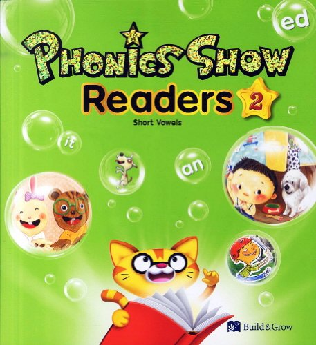 Phonics Show 2 - Short Vowels: Workbook with Answer Keys