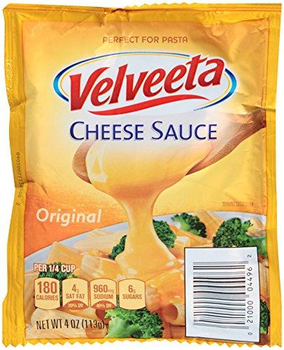 Velveeta Original Cheese Sauce (4 oz Pouches, Pack of 4)