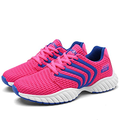 Pink Running SIKAINI Casual Women Couples Shoes Breathable Outdoor Sports Shoes Men Mesh Sport fn7anAgq