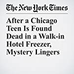 After a Chicago Teen Is Found Dead in a Walk-in Hotel Freezer, Mystery Lingers | Jacey Fortin