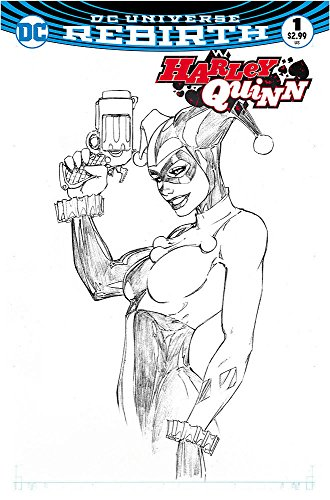 Price comparison product image Harley Quinn 1 Aspen Store Exclusive Michael Turner Sketch Variant