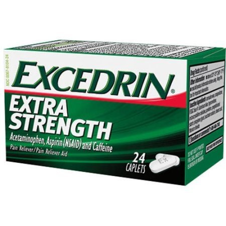 Excedrin Extra Strength Pain Reliever And Pain Reliever Aid Caplets - 24 Ea (pack of 1) ()