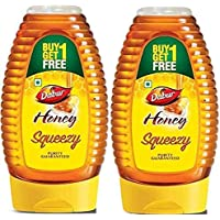 Dabur Pure Honey Squeezy, 225 g, Pack of 2