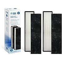 Fette Filter 2-Pack True HEPA Filter Compatible GermGuardian FLT5000 Models AC5250PT,AC5300B,AC5350W,AC5350B,AP2800CA, Black+Decker BXAP250 Lowes Idylis IAP-GG-125 Air Purifiers