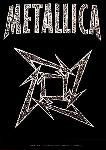 Metallica - Ninja Star Fabric Poster