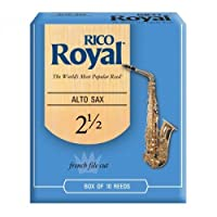 Rico Royal: Alto Saxophone Reeds 2.5 (Box of 10)