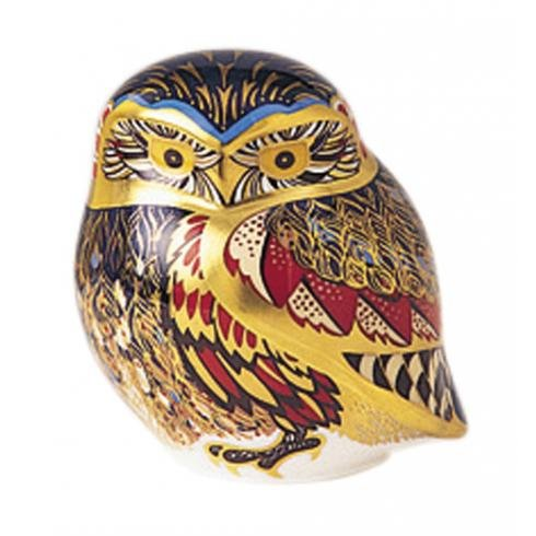 Royal Crown Derby Paperweights Little Owl