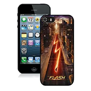 Case For iPhone 5 5S,THE FLASH 1 Black iPhone 5 5S Case Cover