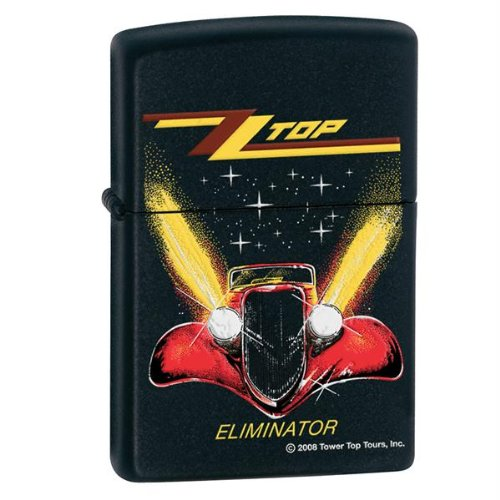 Zippo ZZ Top Eliminator Black Matte Pocket Lighter ()