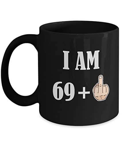 70th Birthday Gifts For Women Men 69 Plus 1 Happy 70 Years Old Yr Funny Coffee