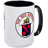 CafePress - VF 11 VFA 11 Red Rippers - Coffee Mug, Large 15 oz. White Coffee Cup