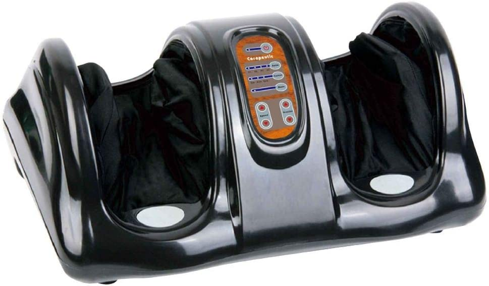 Carepeutic Compression with Remote Control Device Foot Massager - 00152, Black
