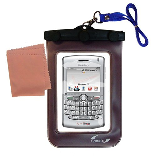 underwater case for the Blackberry 8800 8820 8830 - weather and waterproof case safely protects against the elements