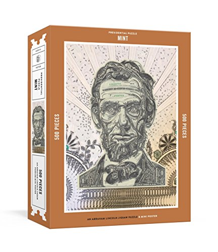Presidential Puzzlemint 500-Piece Puzzle: An Abraham Lincoln Jigsaw Puzzle & Mini-Poster