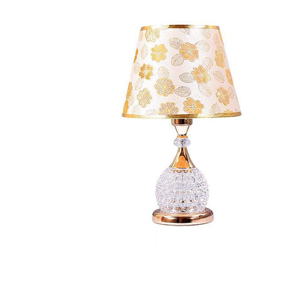 Europäischen Stil Lampe nachttischlampe Wohnzimmer Hochzeit Glas tischlampe