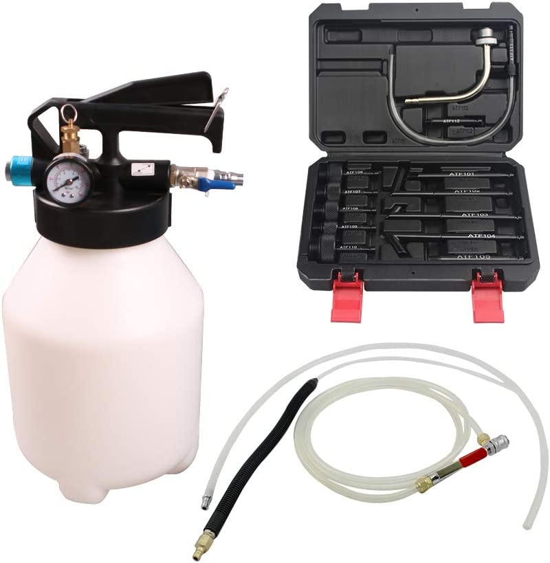 UTMALL 6L Penumatic Air Transmission Oil Filler Gearbox Oil Filling Change Tool for Audi VW BMW Ford
