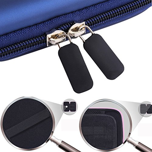 5'' Inch Hard Carrying Travel GPS Case Bag Pouch Protective Shell For 5'' 5.2 Inch Garmin Nuvi 55LM 54LM/54 52LM/52 2597LMT 2577LT 2557LMT 3597LMT TomTom Magellan RoadMate Devices Blue by Teaeshop (Image #8)'