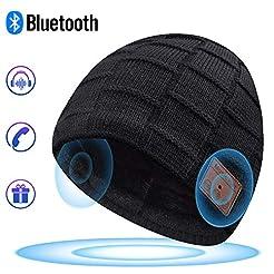 Bluetooth Beanie, Bluetooth Hat, Mens Gi...