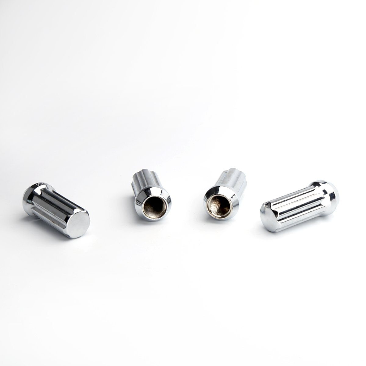 KSP Performance 24PC KSP 14mmx1.5(M14x1.5 thread pitch),60 Degree Conical Cone Seat Wheel Lug Nuts,Closed End 7 Spilne With 2 Keys For Chevy GMC Silverado Sierra Hummer With 6 Lugs Trucks by KSP Performance (Image #2)