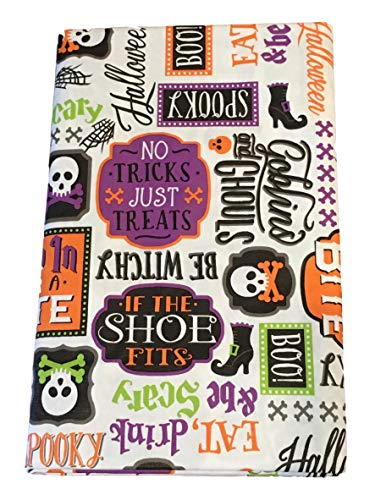 Halloween PEVA Vinyl Tablecloth 52